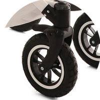 Упрощенная система блокировки передних колес в одном положении