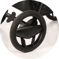Резиновые колеса, наполненные гелем, стойкие к проколам